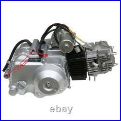 125cc Engine Motor Kit Reverse 3 Speed Electric Start Go Kart ATV Quad Coolster