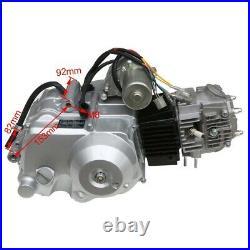 125cc Engine Motor Kit Semi Auto 3+1 Reverse for ATV Quad Go Kart Taotao Buggy