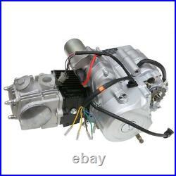 125cc Engine Motor Kit Semi Auto Electric Start For ATV Quad Go Kart 4 Wheeler
