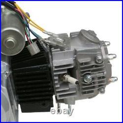 125cc Semi Auto Engine Motor Kit 4 Speed Reverse Electric Start Quad Kazuma 110c
