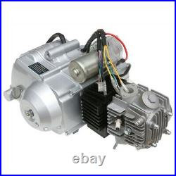 125cc Semi Auto Engine Motor Kit Reverse Electric Start ATV Quad Buggy Go Kart