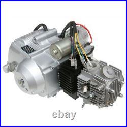 12V 125cc Semi Auto Engine Motor Kit Reverse Wiring, Battery Electric Start ATV