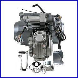 12V Lifan 125cc Engine Motor Kit Semi Auto Kick Electric Start CRF50 XR50 CT70