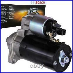 1x BOSCH STARTER ANLASSER 2.2 kW VW MULTIVAN TRANSPORTER T5 2.5 TDI