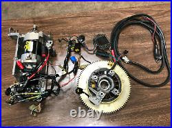 2003 Yamaha F 50 60 HP 2 Stroke Outboard Engine Electric Start Kit Freshwater MN
