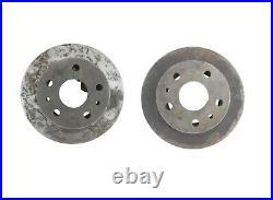 2x Bremsscheiben Hinten Fiat 1500l 1800 2100 2300 Rear Break Discs 1959-1968 Neu
