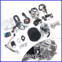 4-stroke 125cc Semi Auto Engine Motor Reverse Kit for ATV Quad Bike Buggy