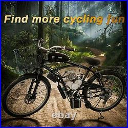 Anbull BT80 Electric Start Bike Engine Kit 26 28 80cc Bicycle Engine Kit2-S