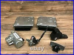 Audi Oem S8 Dme Engine Motor Computer Set With Key 5.2l V10 2007-2010