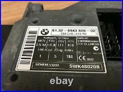 Bmw Oem E65 Alpina B7 Dme Engine Motor Computer Set With Key 4.4l V8 2007 2008