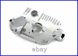Chrome Cam Sprocket Cover Kit Kick and Electric Start Ironhead Harley Sportster