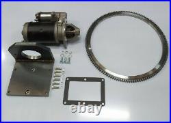 Electric Start Starter Motor Kit Lister Petter Ph1 Ph2 Anti-clockwise Engine