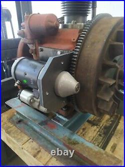 Electric Start Starter Motor Kit Lister Petter Ph1 Ph2 Clockwise Diesel Engines