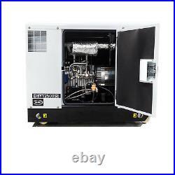 Generator Diesel 10kW 12.5kva 230v Standby ELECTRIC START & Service Kits