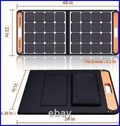 JACKERY 300W QUIET SOLAR POWER STATION KIT-EXPLORER 293Wh/SOLARSAGA 100 PANEL