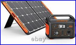 JACKERY 500 SOLAR POWER KIT 518Wh power STATION/SOLARSAGA 100 solar PANEL