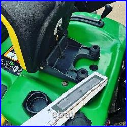 John Deere GT245 GT 245 Ride On Mower 20hp 250 Hours! Kubota Countax Mulch Kit