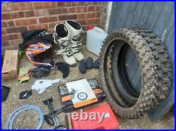 KTM 400 EXC & 3 bike trailer, full kit, spares, parts, tools, tie downs & acc