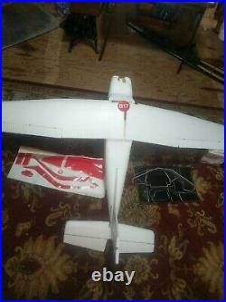 MRC RC Cessna Skyhawk 11 Foam RC Airplane Kit WS 6' Not Complete Started