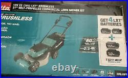 Makita XML08PT1 18V X2 36V LXT 21 Brushless Self Propelled Lawn Mower Kit