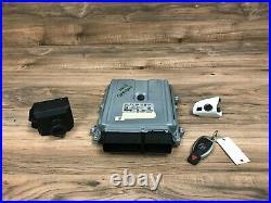 Mercedes Benz Oem X204 Glk350 Dme Engine Motor Computer Set With Key 2013-2015