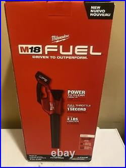 Milwaukee 2724-21HD M18 FUEL 18V 450-CFM 120-Mph Leaf Blower Kit NEW