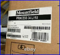Mountfield Princess 34Li Cordless Lawnmower Complete Kit 3 in 1 Mulcher, Side D