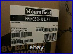 Mountfield Princess 38Li Cordless Lawnmower Complete Kit 3 in 1 Mulcher, Side D