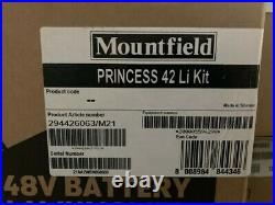 Mountfield Princess 42Li Cordless Lawnmower Complete Kit 3 in 1 Mulcher, Side D
