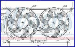 NISSENS 85083 Fan, radiator for PEUGEOT