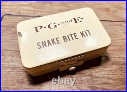 NOS Vintage PG&E Snake Bite Kit (First Aid) Pacific Gas and Electric Co