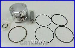 New Honda CG125 (M1) Piston Kit 01-03 15mm Pin Electric Start Model Rings CG 125