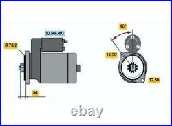 Original BOSCH Starter 0 001 121 028 für Audi Ford Seat Skoda VW