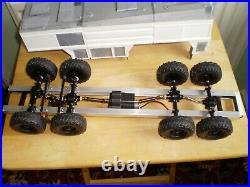REVELL 1/24 GFLF SIMBA 8x8 R/C CONVERSION, METAL CHASSIS, STARTED NEEDS FINISHING