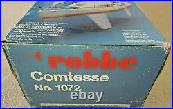 Robbe Comtesse Yacht No 1072 Radio Controlled Model Kit complete & not started