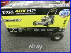 Ryobi RY401150US 21 HP 40V Li-Ion SELF-PROPELLED LAWN MOWER Dual-Blade Kit New