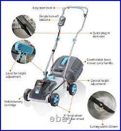 Swift 40V Cordless Brushless Lawn Mower Kit Battery Powered Electric Lawnmower